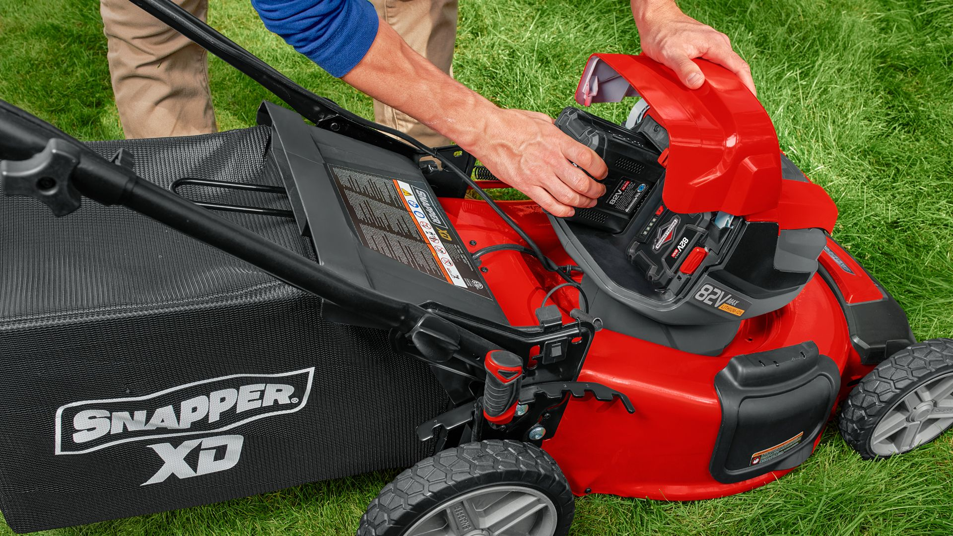 Snapper XD 82V Review - Snapper's Battery Powered Lawn Mower