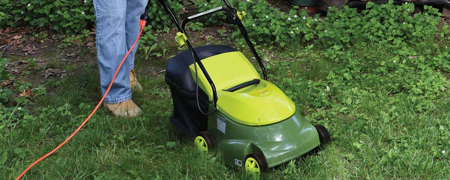 Sun Joe MJ401E Review - Mow Joe electric lawn mower