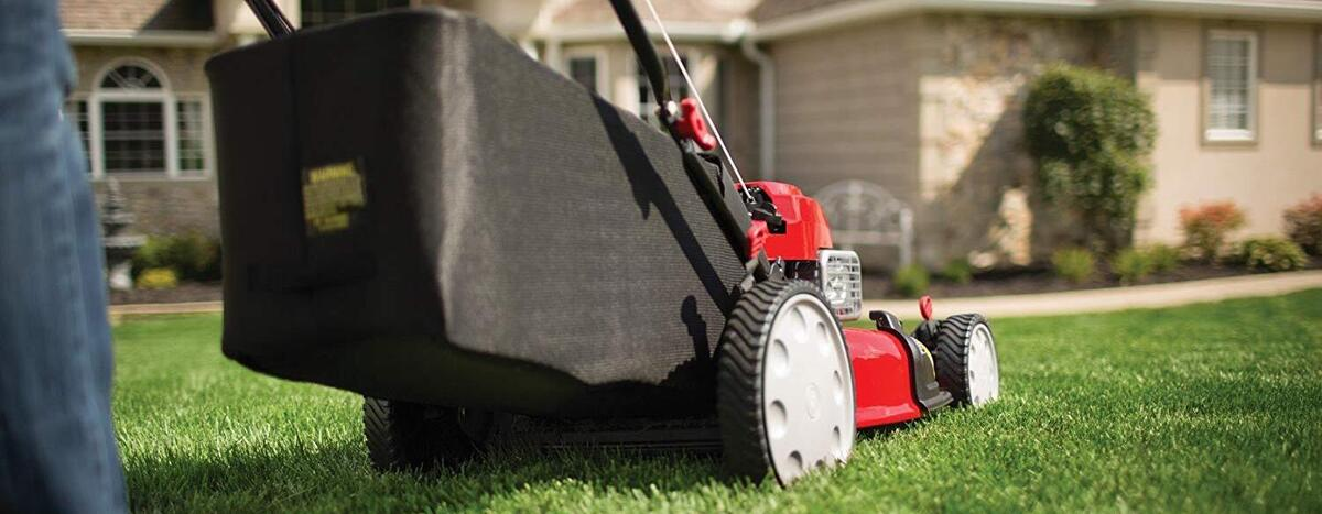 Troy-Bilt TB210 Review - An easy to use lawn mower