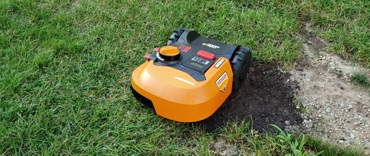 WORX WR140 Review - An entry level robot lawn mower from Worx?