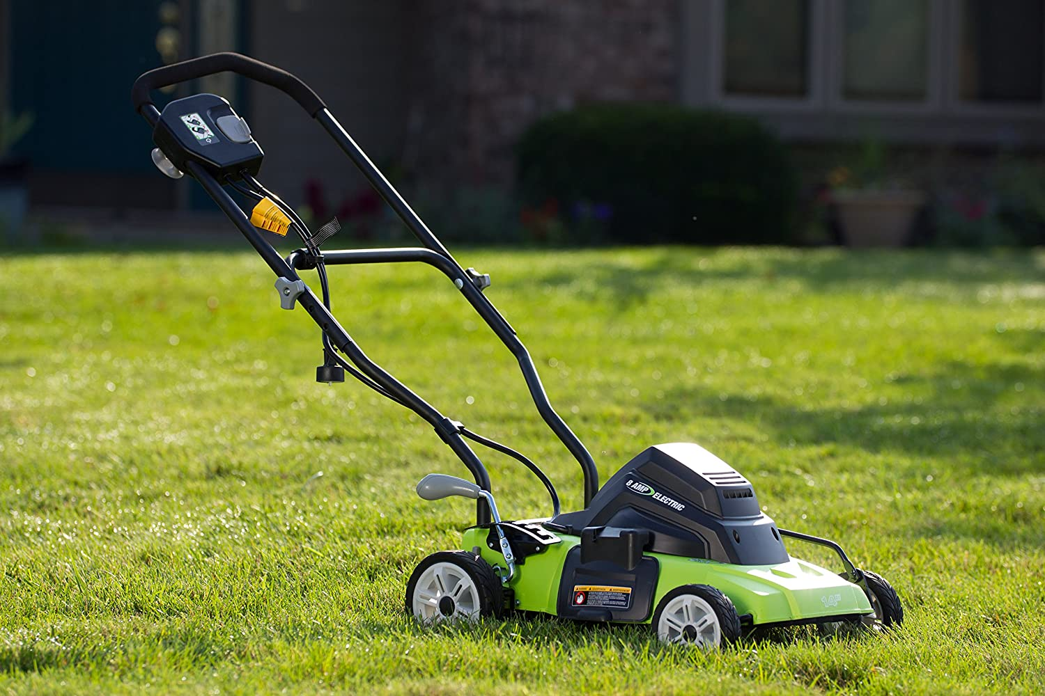 Earthwise 50214 review - The best corded electric lawn mower?