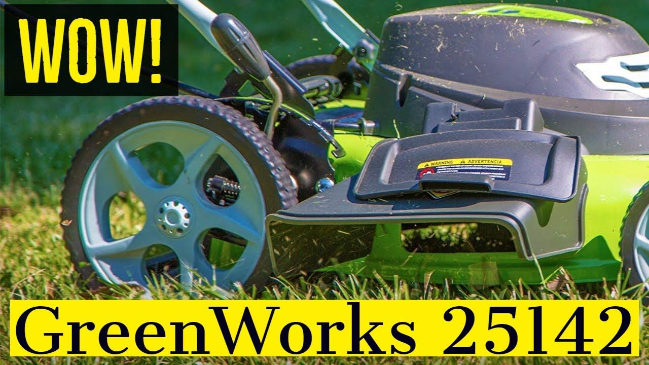 Greenworks 25142 Review - A 16 in. Corded Lawn Mower