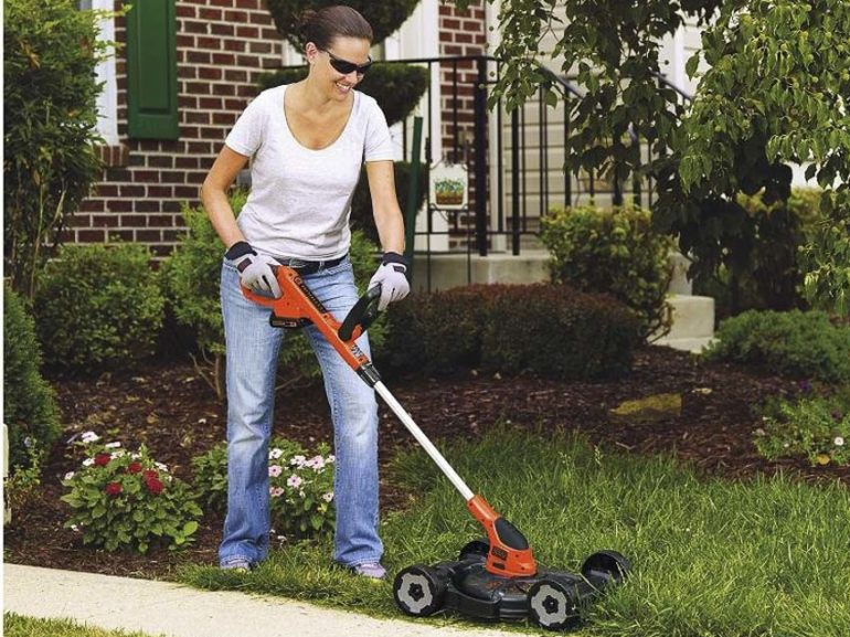 Black+Decker BESTA512CM Review - Compact electric lawn mower