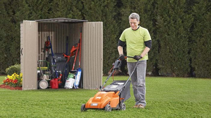 How to Store Lawn Mower Outside?